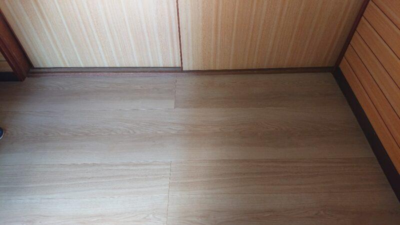 床の張替工事